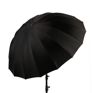 """Image 4 - Godox 150 cm 60 """"Inches Photography Studio Umbrella for Photo Studio of Soft Lighting Out In Black Inside Of Silver Umbrella"""