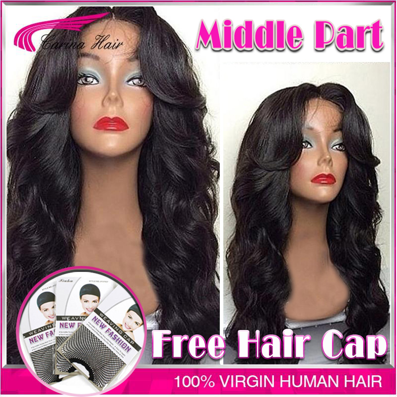 Top Grade Glueless Full Lace Wig Brazilian Deep Body Wave Full Lace Human Hair Wig For Black Women Lace Front Wig With Baby Hair