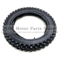Off Road Tire 90/100 14 with Inner Tube 90/100 14 for Dirt Pit Bike Motocross Off Road Motorcycle 14 inch Rear Wheel