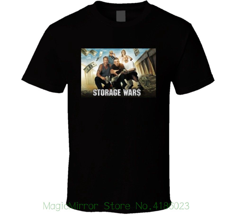 Хранение войн групповой снимок черная футболка уличная Забавный принт Костюмы хип-tope Ман футболка Футболки