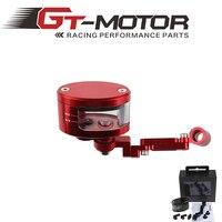 GT Motor Universal Motorcycle Front Clutch Pump Fluid RESERVOIR Tank CT125B Bracket For Honda Kawasaki Yamaha