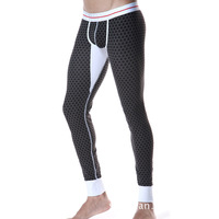 2014 New SEOBEAN Men S Sexy Long Johns Low Rise Thermal Underpants All Size