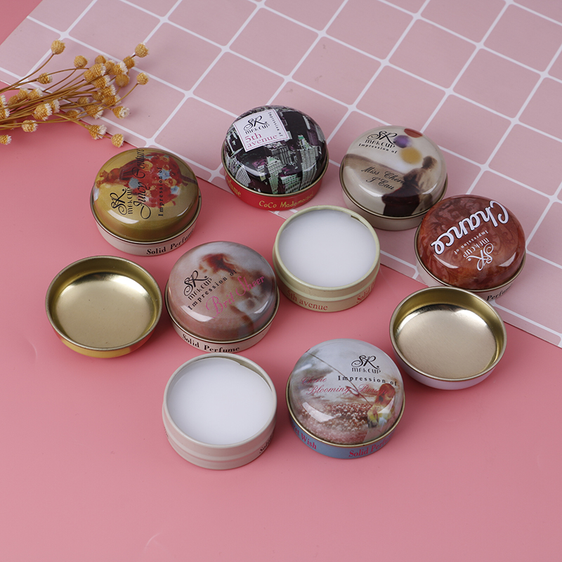 8 Kinds Solid Parfum Perfume And Fragrances Women Men Alcohol-free Femme Perfumes Feminino Masculino Deodorant Fragrance