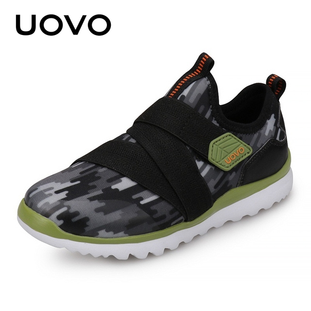 35c206e5aa6f UOVO Kids Spring Shoes For Boys And Girls 2019 New Little Kids Sneakers  Breathable Fashion Shoes Children Footwear Sizes 27 -38