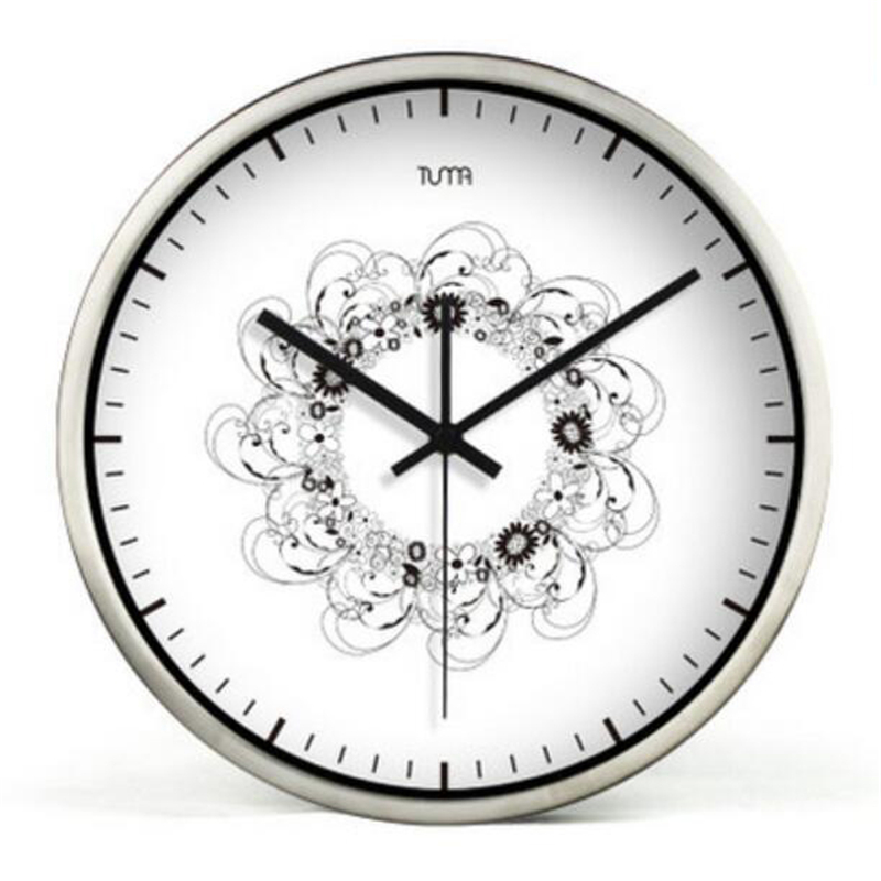 Modern Wall Clock Home Decor Large Decorative Silent