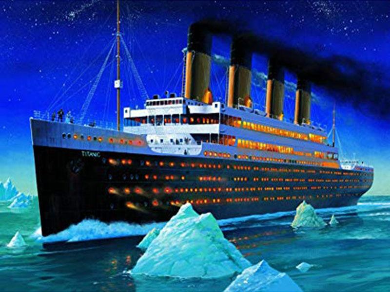 DIADIY Great ships at sea полный квадратный алмаз 5D DIY Алмазная картина Алмазная вышивка крестиком рукоделие Декорация