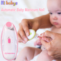 Senior Baby Electric Nail Trimmer Baby Scissors Babies Nail Care Safe Nail Clipper Cutter For Kids Infant Newbron Nail Trimmer