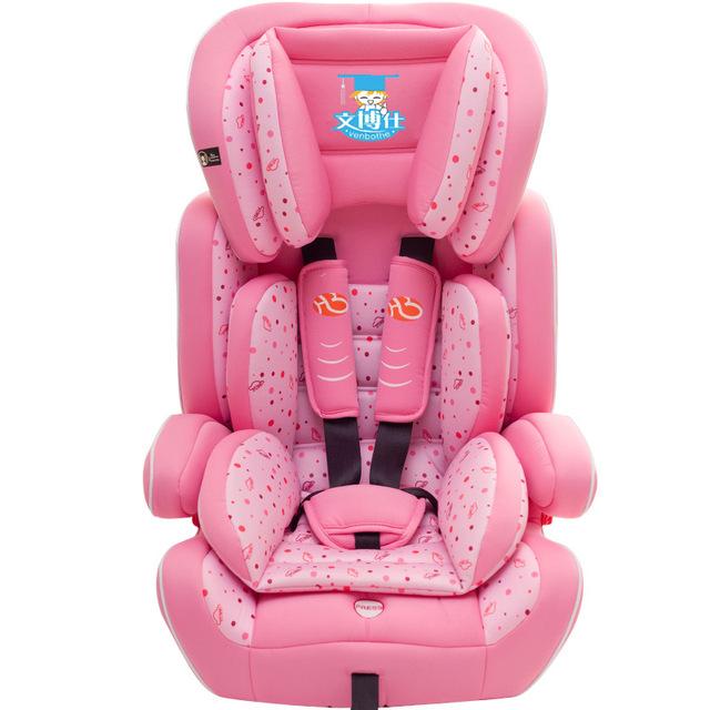 Boa Qualidade Confortável Assento da Segurança Do Bebê Para A Frente de Instalação Pode Sentar Mentindo Ajustável Assento de Segurança Do Carro da Criança Crianças Engrossar C01