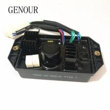 Высокое качество 10KW Лихуа AVR трехфазный 10 провода автоматический регулятор напряжения генератора AVR TT93-7 400V 470 мкФ