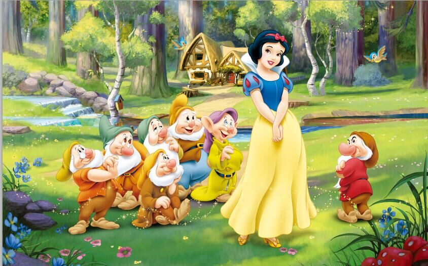 snow white and the seven dwarfs - HD 1680×1050
