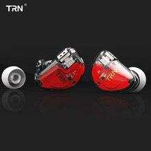 TRN V30 2BA + 1DD Трехместный Гибридный драйверы бас в ухо наушники Hi-Fi Monito спортивные наушники 2Pin съемный кабель AS10  T2  V80  Знч  IE80