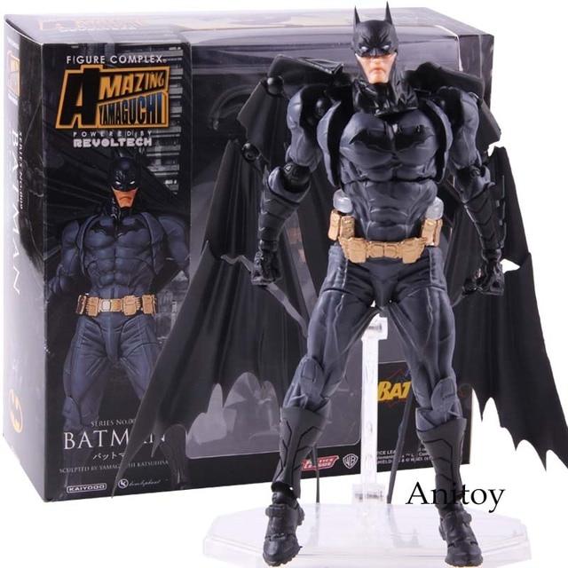 Revoltech Série N ° 009 Super-heróis Batman Action Figure Collectible Modelo Toy Presente Para Crianças
