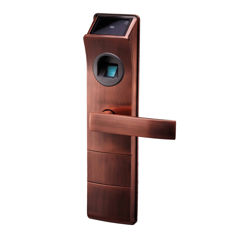 Biometric electronic door lock fingerprint code card for 1 touch fingerprint door lock