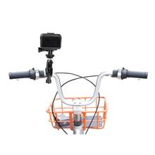 DJI Osmo Ação de Bicicleta Suporte de Montagem Braçadeira Titular Lidar Com Stander Clipe Adaptador OSMO AÇÃO Bicicleta Stand Acessórios Da Câmera de Esportes