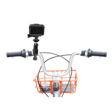 DJI Osmo Action Bike Bracket Mount Holder Clamp Handle Stander Clip Adapter OSMO ACTION Bicycle Stand Sports Camera Accessories