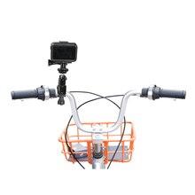DJI Osmo アクションバイクブラケットマウントホルダークランプハンドルスタンダークリップアダプタ OSMO アクション自転車スタンドスポーツカメラアクセサリー