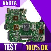 XinKaidi N53TA Laptop motherboard for ASUS N53TA N53TK N53T N53 Test original mainboard