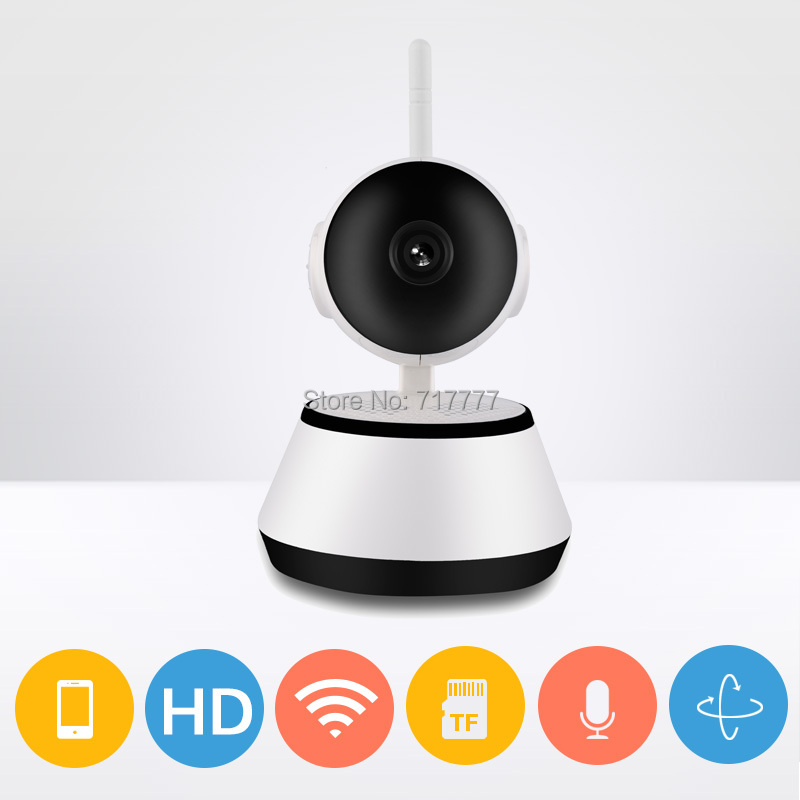 720P wifi Smart font b Camera b font HD Mini IR WiFi VEDIO PTZ alarm CCTV