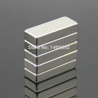 5pcs Super Powerful Strong Rare Earth Block NdFeB Magnet Neodymium N35 Magnets F30*15*5mm- Free Shipping