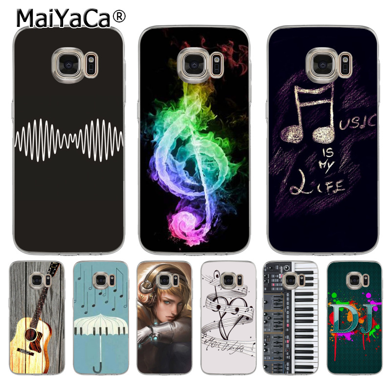 US $1 03 20% OFF|MaiYaCa sh4742 Cool DJ Arctic Rock Music NOTE Classic  Phone Accessories Case for samsung galaxy s8 s7 s6 edge plus s5 s9 case-in