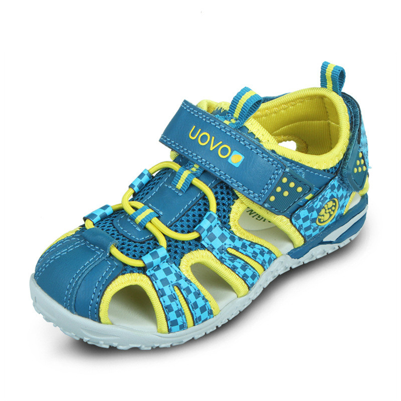 2018 Summer Children Shoes Fashion Kids Sandals For Boys Girls Hook-and-loop Cut-outs Summer Casual Beach Sandals