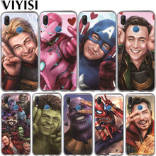 Luxury Marvel Avengers Cute Heroes Spider-Man Iron Man Phone Case For Huawei Honor 10 9 8 8X 8C 7A 7C 7X 7 6X 6A Lite Coque Etui hj125 7 7a 7c 8 f 428