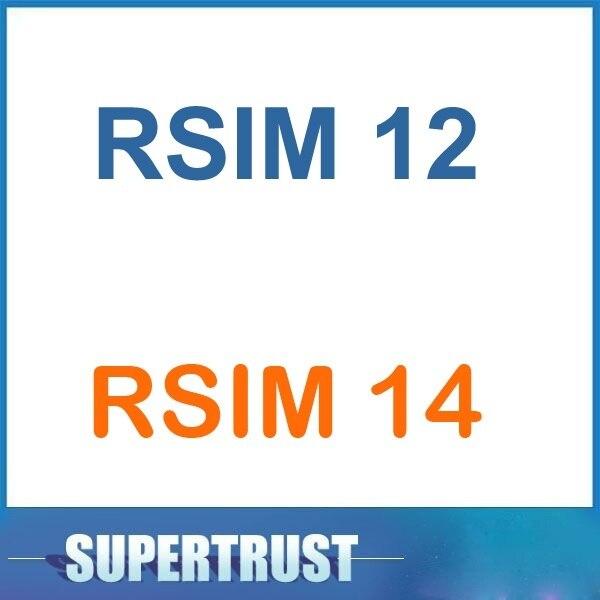 1PCS/Lot Original For IPhone 5 5S 5C 6 6S 7 8 Plus X XR XS Max RSIM12 RSIM14 R-SIM 14 R-SIM 12 R-SIM 14 SIM Card Tool