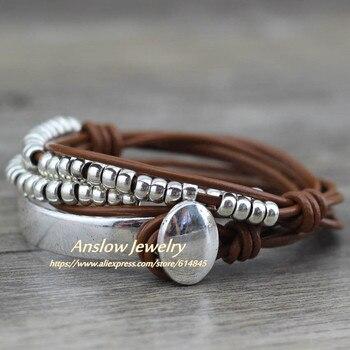 Anslow Brand Bohemian Vintage Handmade Multilayer Wrap Jewelry 4