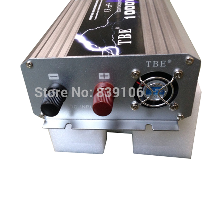 1000 W Zuivere Sinus Auto Omvormer 12 V naar Ac 220 V Zonne energie Boot Thuis Auto Omvormer converter Adapter Oplader Camper - 4