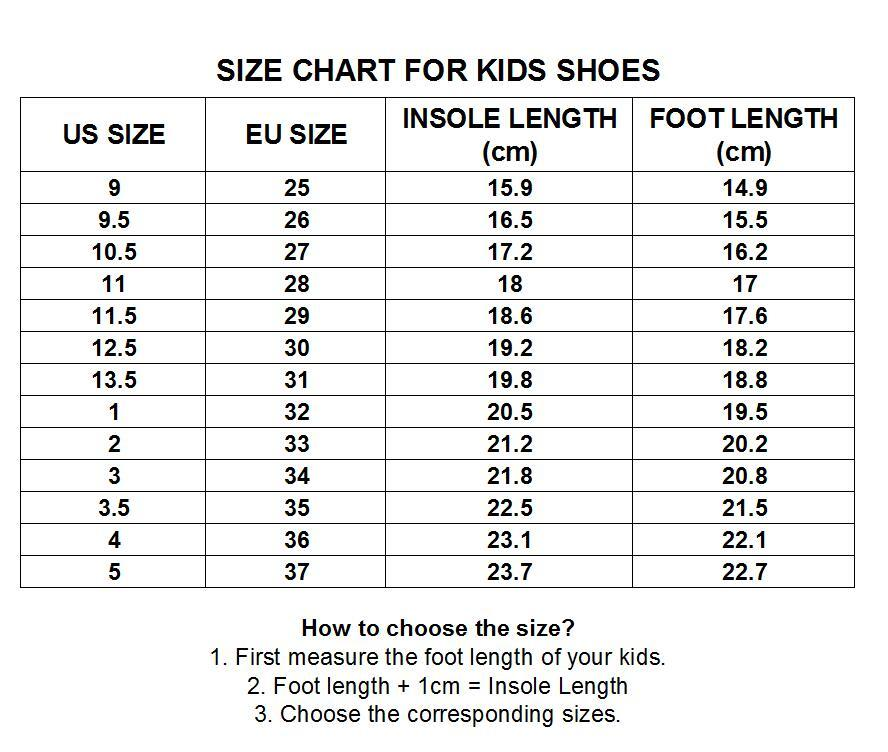 us size 3 kids