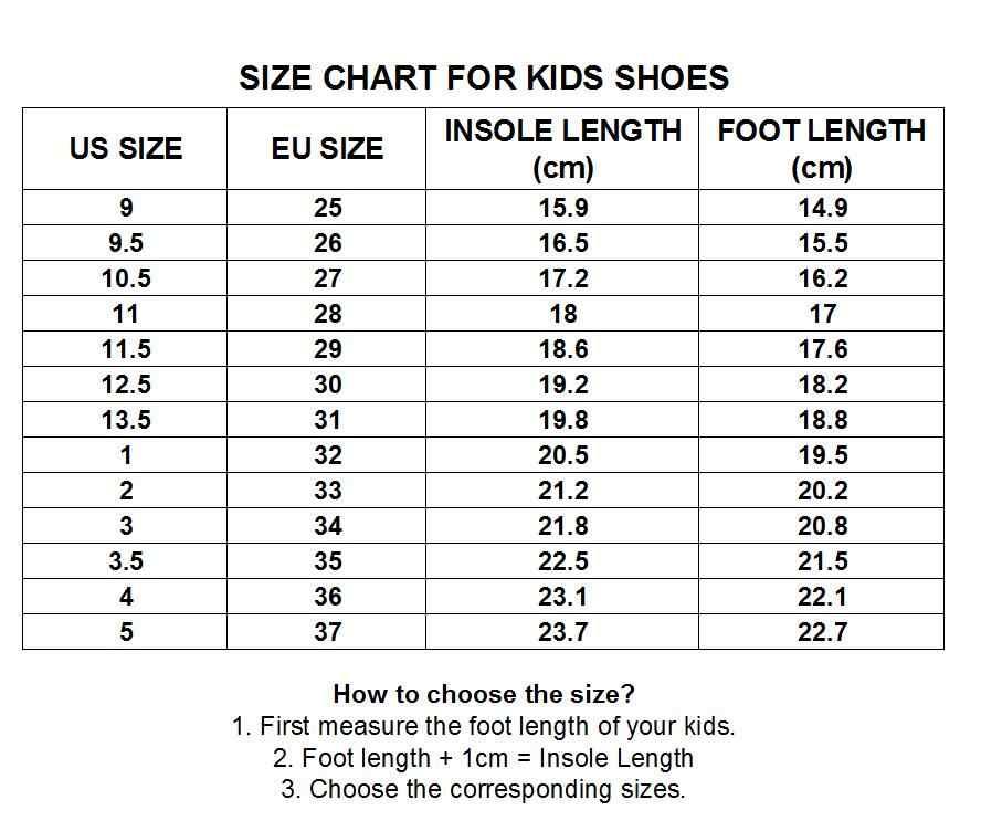 size 8 in eu kids