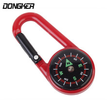 DONGKER Climbing / Mountaineering Buckle Compass