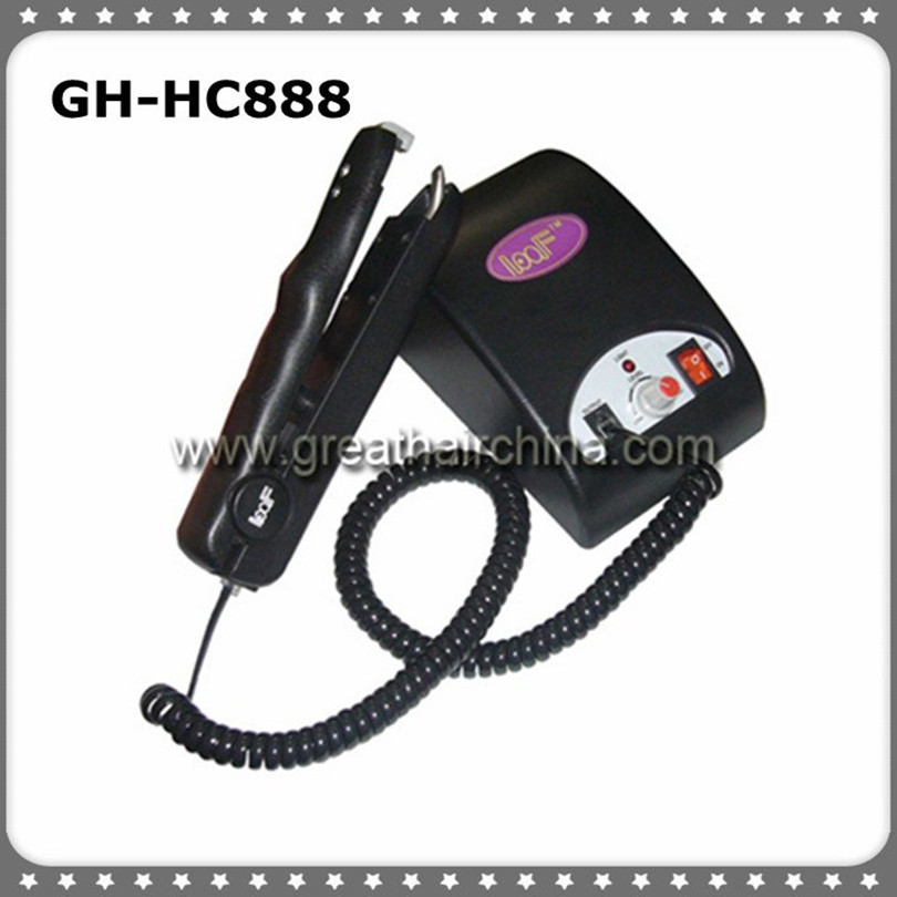 Ultrasonic Hair Extension Connector/Iron/Machine for Fusion Hair Extension 1PC/lot Free Shipping latest digital ultrasonic hair extension machine connector gh hc988 with all black handle free shipping