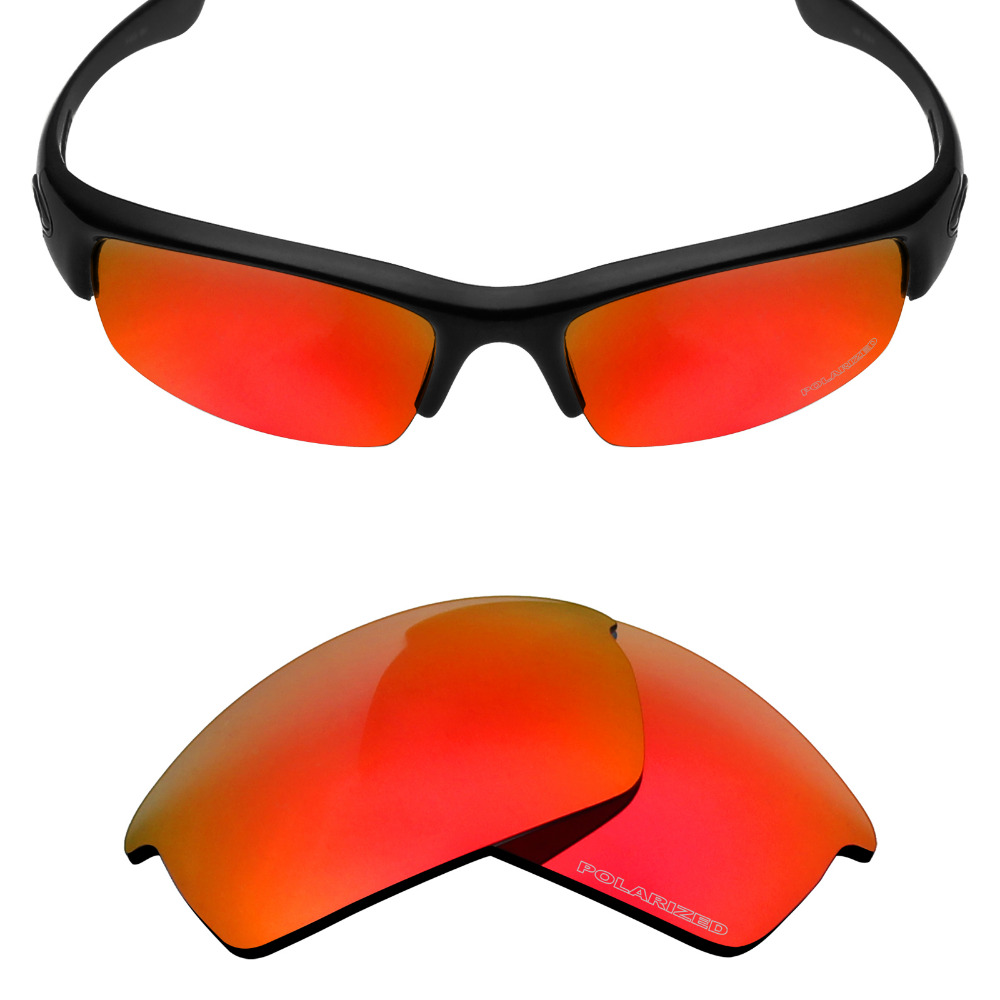 6864fea5e61 Mryok+ POLARIZED Resist SeaWater Replacement Lenses for Oakley Bottlecap  Sunglasses Fire Red
