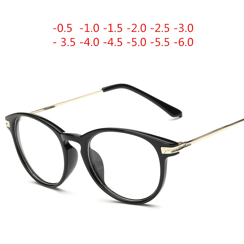 Finished myopia glasses Men Women reading Eyeglasses myopia frame Lens prescription optical astigmatism diopters -50 to -600