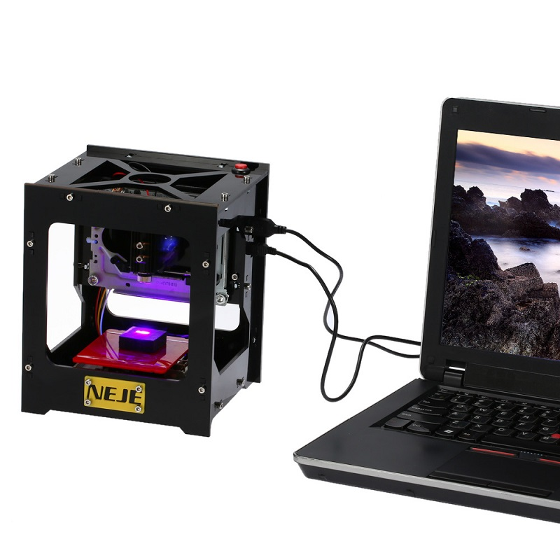 Engraving-Machine NEJE Cnc Print 1000mw Mini-Usb Automatic DIY Off-Line-Operation