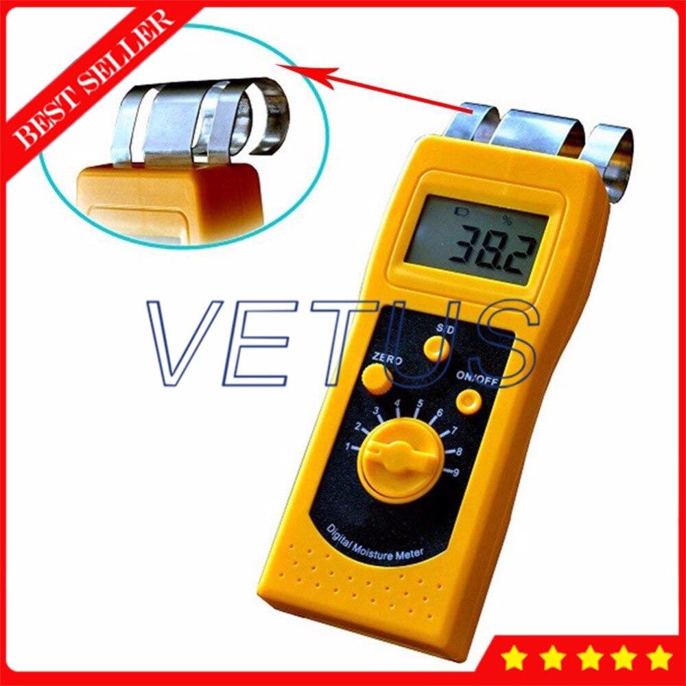 DM200T 0~50% Textile moisture meter for Cotton Clothes dm200t 0 50