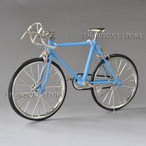 Image 5 - Diecast דגם צעצועי 1:10 מרוצי אופני אופניים העתק מיניאטורי אוספים