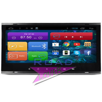 Roadlover Android 7.1 Car GPS Navigation For VW Touareg 2003 2004 2005 2006 2007 2008 2009 2010 Stereo Player Video 2 Din NO DVD