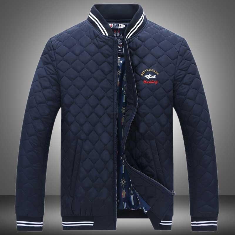 Новое поступление Повседневное Для мужчин Демисезонный Куртки высокое качество Slim Fit Для мужчин S брендовая одежда верхняя одежда акула Для...
