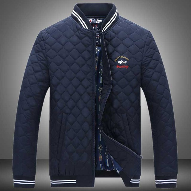 New Arrival Casual Men Spring Autumn Jackets High quality Slim Fit Mens Brand Clothing Outerwear shark men Jacket