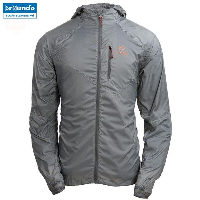 31926ac713ccd Chaqueta de lluvia para correr al aire libre camping hombre rompevientos de  secado rápido pesca Anti