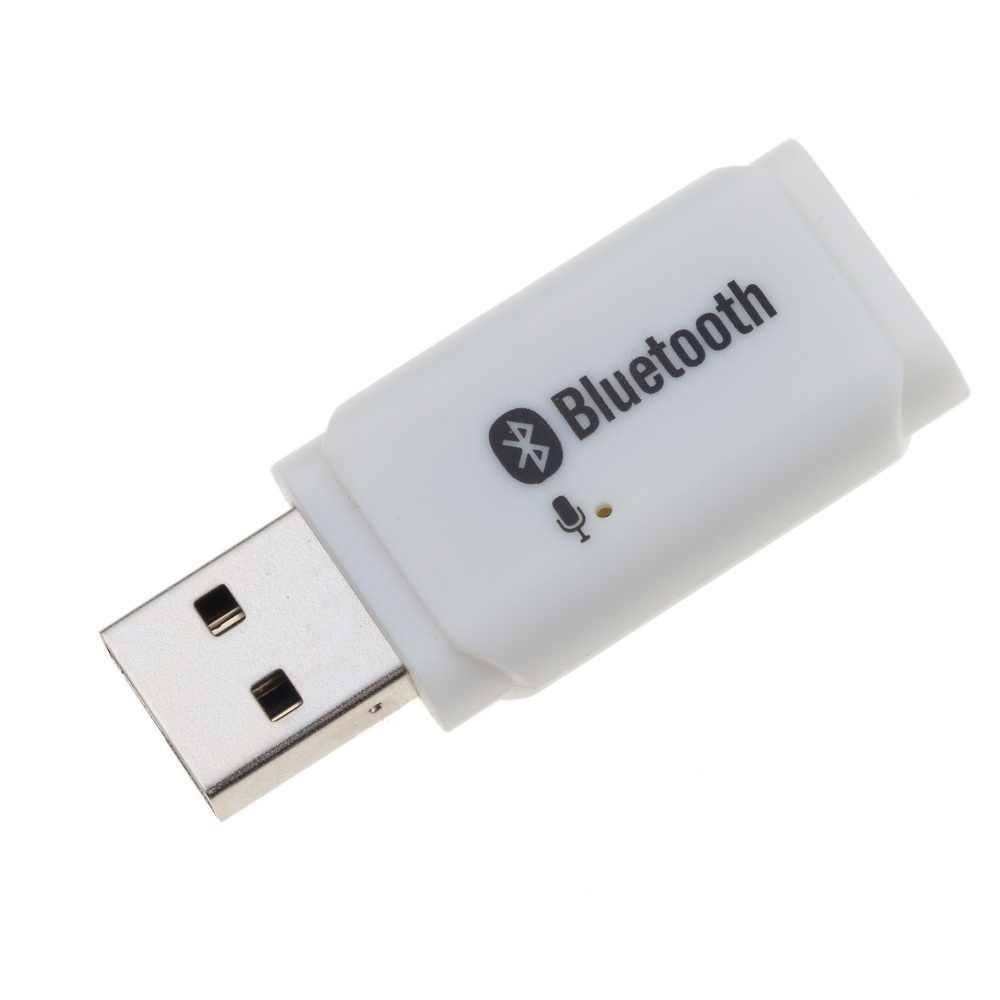 Bluetooth Ontvanger Draadloze USB AUX Audio Adapter voor Auto Mp3 Speler Speaker Handsfree Carkit Mic Oproep zonder 3.5mm jack