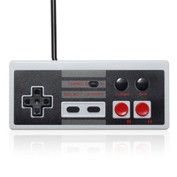 For NES Turbo Classic Mini Edition Wired 2 7m Retro Gaming Controller Gamepad For Nintendo For
