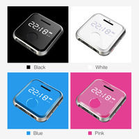 MP3 Player MP 3 mini HiFi Music Player Kids Sport WAV Voice Recorder FM Radio 8G 0.91 inches MP3 Bracelet Can Play 30 Hours