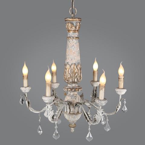 ferro de madeira iluminacao lustre cristal do vintage pingente lustre sala estar cozinha quarto retro