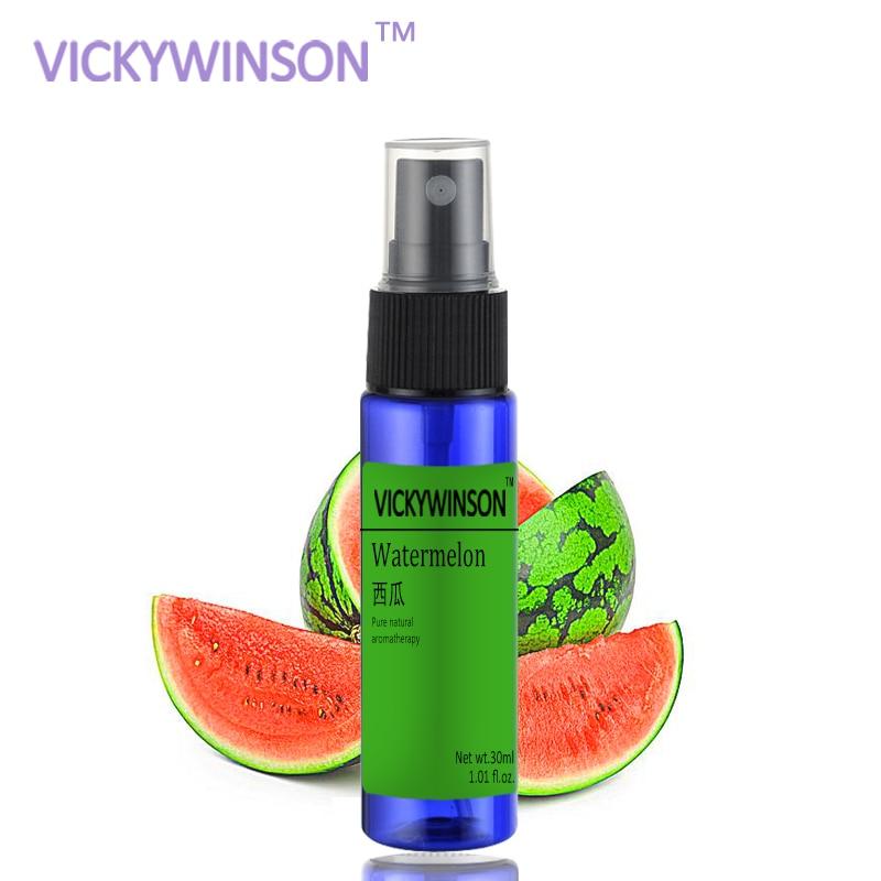 VICKYWINSON Watermelon Deodorization Spray 30ml Body Antiperspirant Deodorant Stick Body Fragrance Sweat Armpit Underarm Odor