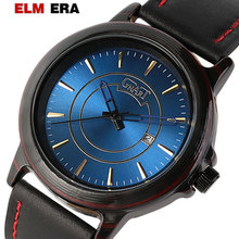 Men Watch Male Leather Automatic date Quartz Watches Mens Luxury Brand Waterproof Sport Clock Relogio Masculino pacific angel shark sport watch luxury calendar quartz men male watches fashion red black leather band relogio masculino sh094