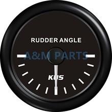 KUS Boat Rudder Angle Indicator Boat Angle Indicator Gauge 0-190ohms 12/24V 52mm
