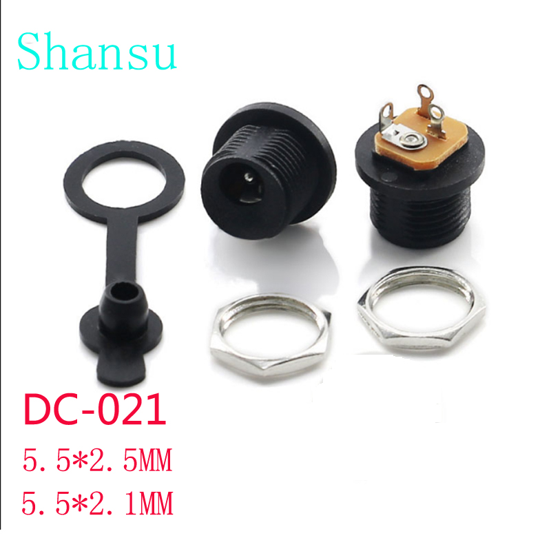 Lighting Accessories Audacious 10pcs Dc Plug Dc021 5.8x2.0mm A Power Outlet Dc-021 3 Feet Into 5.5x2.1mm Waterproof Cover 5.5x2.5mm Beautiful And Charming Back To Search Resultslights & Lighting